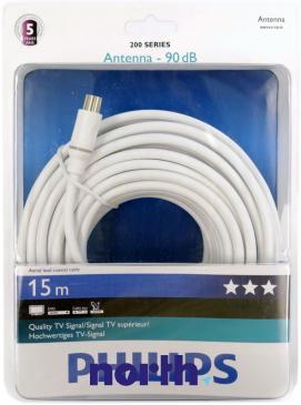 Kabel antenowy 15m Philips (wtyk/gniazdo) HQ