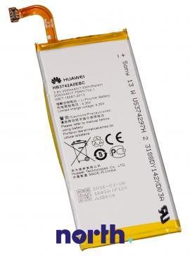 Akumulator | Bateria Ascend P6 3.8V 2000mAh do smartfona HB3742A0EBC