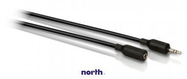 Kabel Jack 3,5mm stereo 5m (gniazdo/ wtyk) SWA2531W10