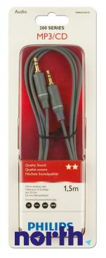Kabel Jack 3,5mm stereo 1.5m (wtyk/ wtyk) SWA4522S/10