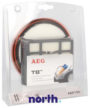 Zestaw filtrów AEF139 do odkurzacza AEG 9001671008