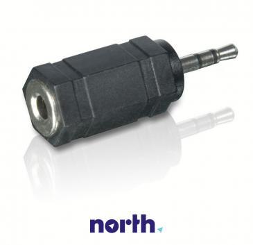 Adapter Jack 3,5mm stereo - Jack 2,5mm stereo (gniazdo/ wtyk) SWA2093W10