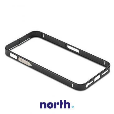 Ramka ochronna do smartfona Apple iPhone 5/5S/5C (czarna) ALU06