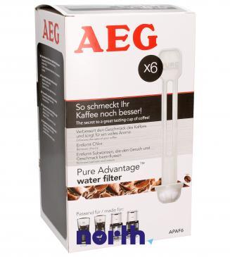 Filtr wody APAF6 do ekspresu do kawy 9001672899 6szt.