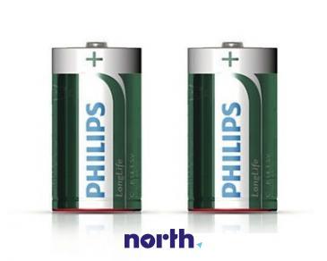 R14 | LR14 | MN1400 Bateria C cynkowo-węglowa 1.5V Philips (2szt.)
