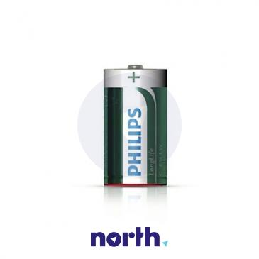 R20 | LR20 | MN1300 Bateria D cynkowo-węglowa 1.5V Philips (2szt.)