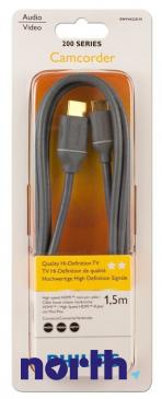Kabel HDMI - HDMI mini 1.5m Philips SWV4422S10 (wtyk/ mini wtyk) HQ