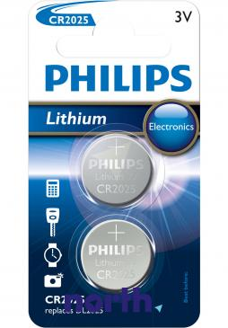 CR2025 | DL2025 | Bateria litowa 3V 150mAh Philips (2szt.)