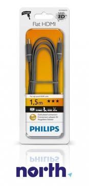 Kabel HDMI 1.5m Philips SWV4452S10 (wtyk/wtyk) HQ