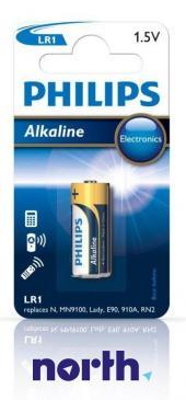 LR1 | MN9100 Bateria alkaliczna 1.5V Philips (1szt.)