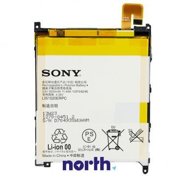 Akumulator | Bateria LIS1520ERPC 3.8V 3000mAh do smartfona Sony 12708451