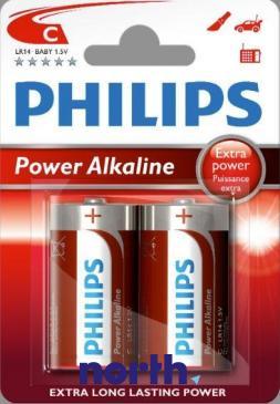 R14 | LR14 | MN1400 Bateria C alkaliczna 1.5V Philips (2szt.)