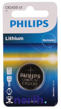 CR2430 | DL2430 | Bateria 3V 270mAh Philips (1szt.)