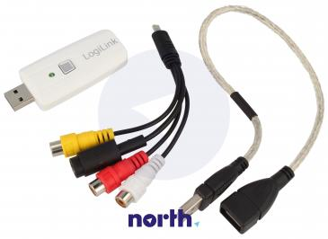 Konwerter   Przetwornik audio/wideo na USB VG0011
