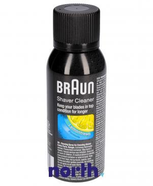 Preparat czyszczący głowice do golarki Braun 81536856