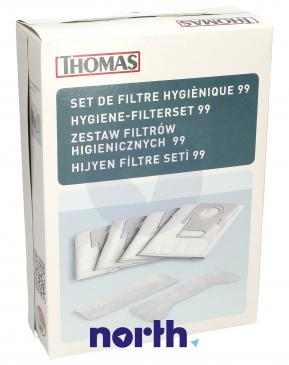 Worek + filtr wlotowy i wylotowy - zestaw do odkurzacza 787246