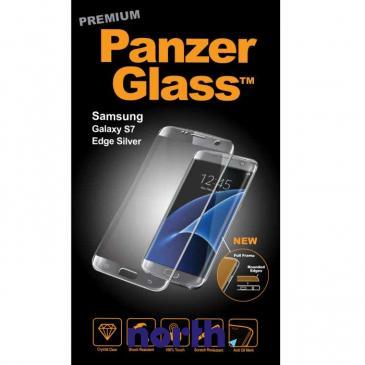 Szkło hartowane wyświetlacza do smartfona Samsung Galaxy S7 Edge PanzerGlass (srebrna) 1052