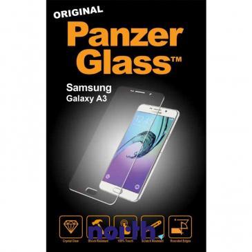 Szkło hartowane wyświetlacza do smartfona Samsung Galaxy A3 PanzerGlass (czarna) 1551