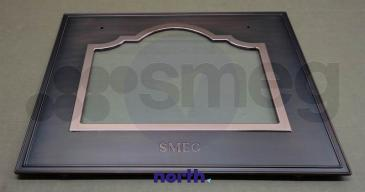 695412734 BACKOFENTÜR (PANEL+GLASS ASSEMBLY SMEG
