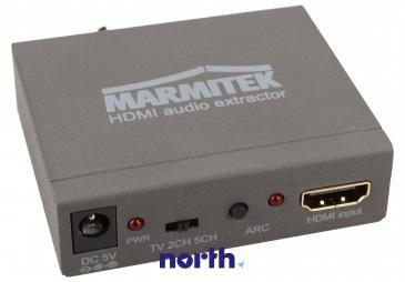 Konwerter TOSLINK/CINCH/COAX - HDMI (gniazdo/gniazdo x3/ gniazdo) 08276