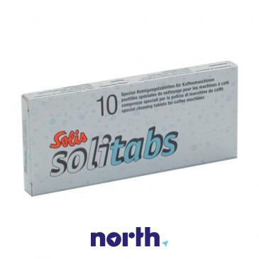 Preparat czyszczący (tabletki) SOLITABS 10szt. do ekspresu do kawy 99302