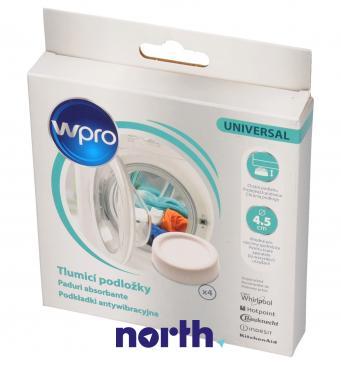 484000008530 SKA303 Podkładki antywibracyjne do pralki i suszarki 4 szt WHIRLPOOL