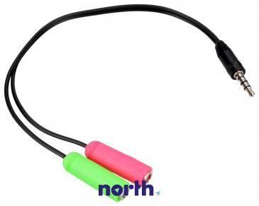 Kabel JACK 3.5mm - CINCH (wtyk/ gniazdo x2)