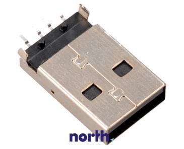 Wtyk USB A USB A do druku (kątowy)