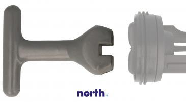 Klucz filtra pompy odpływowej uniwersalny do pralki