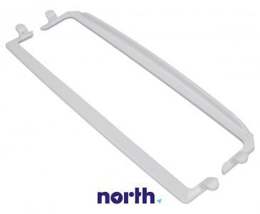 Zestaw ramek półki szklanej (przednia + tylna) do lodówki 1035517