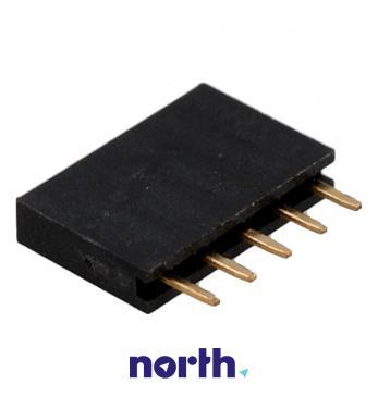 Gniazdo proste 1X5 pin