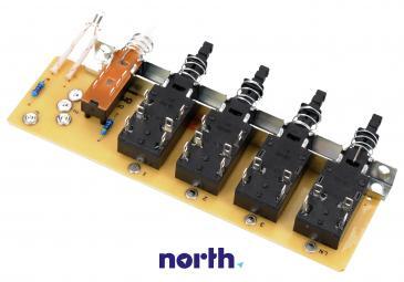 Sterownik | Płytka z przełącznikami panelu sterowania do okapu Amica 1007310