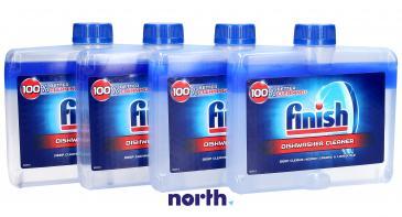 Preparat czyszczący (płynie) Finish Regular 4szt. 250ml do zmywarki