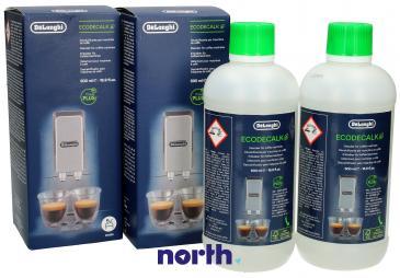 Odkamieniacz SER3018 do ekspresu do kawy DeLonghi 500ml (2szt.)