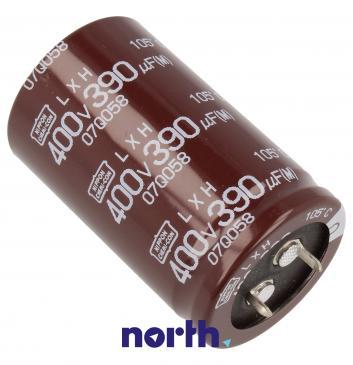 400uF | 390V Kondensator elektrolityczny 105°C 45mm/25mm