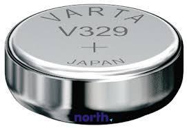 V329 | SR65 | 329 Bateria 1.55V 36mAh Varta