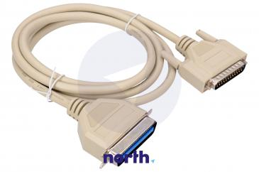 Kabel LPT 1.8m 36 pin (wtyk/ 25 pin wtyk) standard