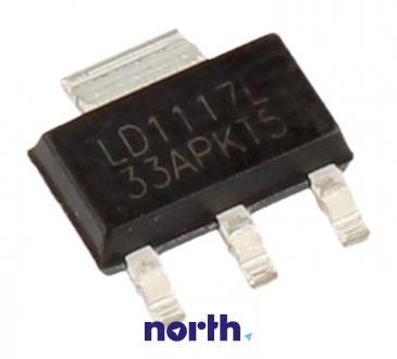 LM1117 3.3V Układ scalony IC