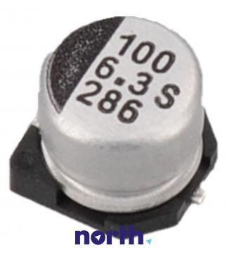 100uF | 6.3V Kondensator elektrolityczny 105°C SMD 5.8mm/6.3mm