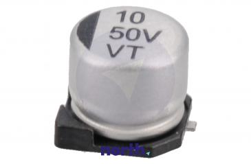 10uF | 50V Kondensator elektrolityczny 105°C SMD 5.8mm/6.3mm
