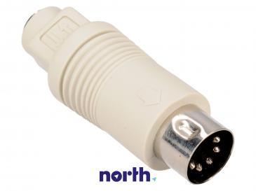 Adapter PS2 - DIN (gniazdo/ 5 pin wtyk) standard