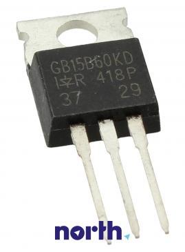 IRGB15B60KD Tranzystor TO-220AB (n-channel) 600V 15A 62.5MHz