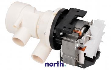 Pompa odpływowa kompletna (C00043725) do pralki Indesit/Hotpoint 482000026526