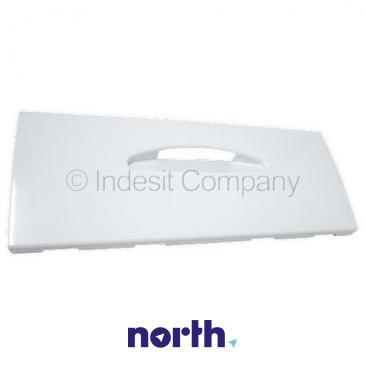 Front dolnej szuflady zamrażarki do lodówki Indesit C00048549