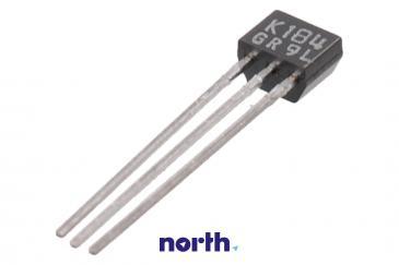 2SK184C Tranzystor 2-4C1C (n-channel) 50V 0.01A