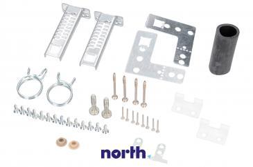 Uchwyt | Mocowanie frontu meblowego drzwi zawiasów do zmywarki Siemens 00165737