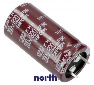 820uF   200V Kondensator elektrolityczny 105°C EKMH201VSN821MQ50S 50mm/26mm