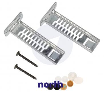 Zestaw montażowy cokołu do zmywarki Bosch 00166034