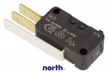 Przełącznik | Mikroprzełącznik D42X hydrostatu do zmywarki Siemens 00165256
