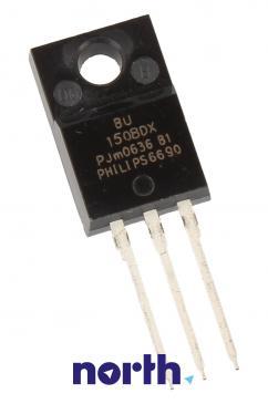 BU1508DX Tranzystor SOT-186A (npn) 700V 8A 1.5MHz